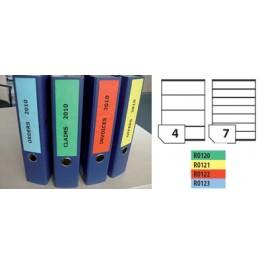 Етикети за класьори