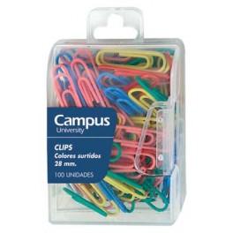 Цветни кламери  Campus Plus
