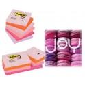 Лепящи листчета Post-it® 653FLJO Pastel